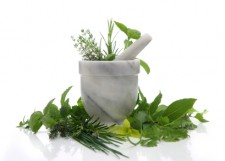 naturopathy mortar-and-pestle
