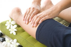 massage of leg
