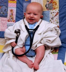 baby as doctor
